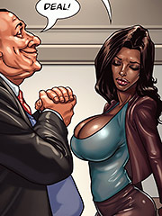 I was thinking maybe another taste of that sweet brown snatch - The mayor 2 by Black n White comics 2016