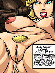 She was excited and scared at the same time - Manza by Illustrated interracial